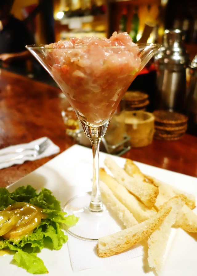 La Salangane bar El Nido Palawan tuna tartare