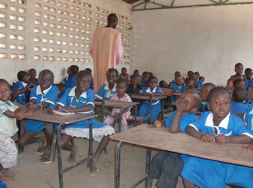Gambia Children in Class