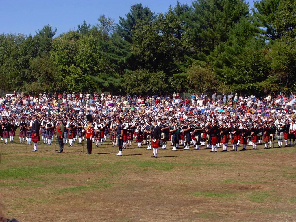 2 Mass Bands at New Hampshire Highland Games