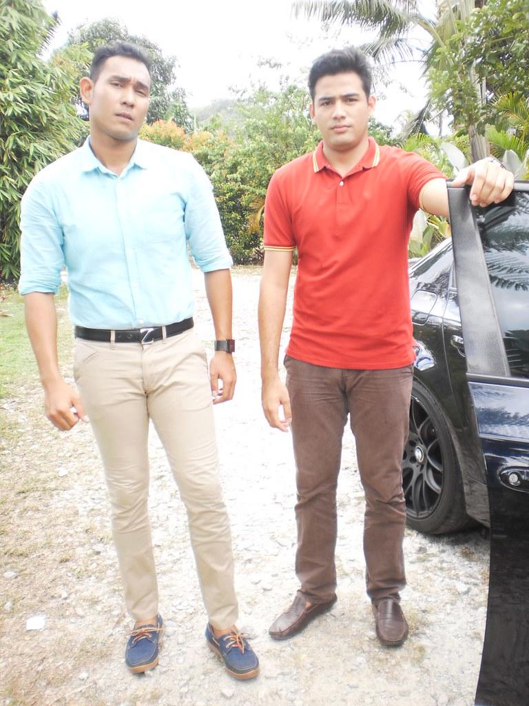Riz Amin dan Afiq Muiz