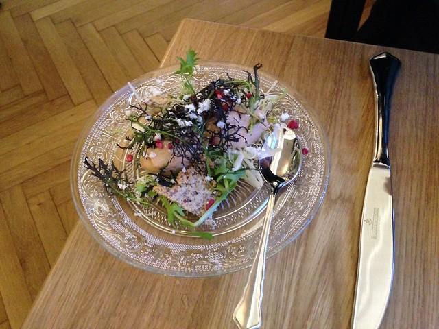 Roe with almonds & raspberries - Huset Blom