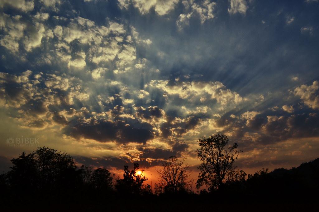 Image for Amazing winter sunset