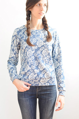 blue blossom top