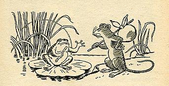 Les aventures du petit rat Justin, by Léonce BOURLIAGUET