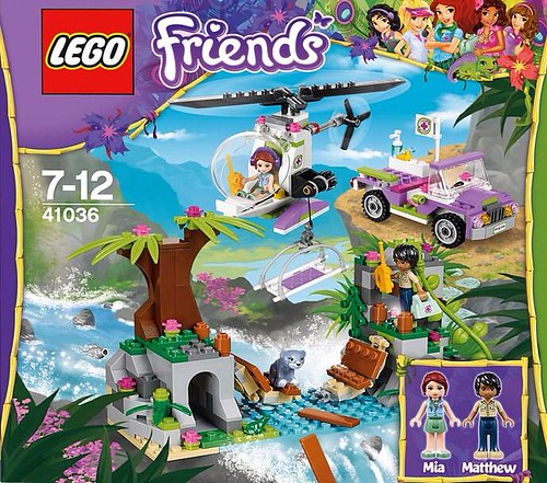 LEGO Friends Jungle Bridge Rescue (41036)