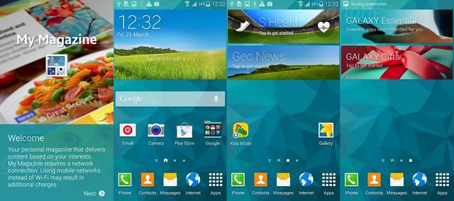 Galaxy S5 Home