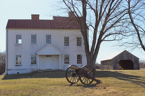 Monocacy Battlefield, Best Farm house front
