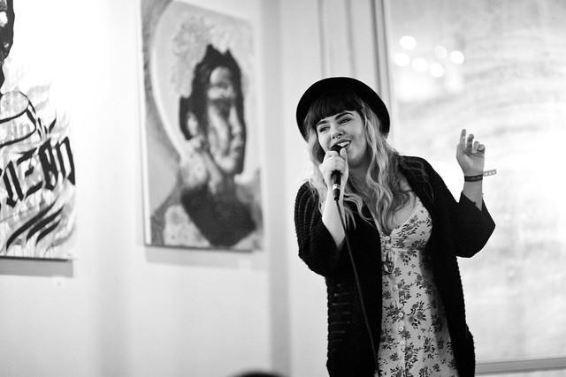 237/365 - Taylor Anne Sings