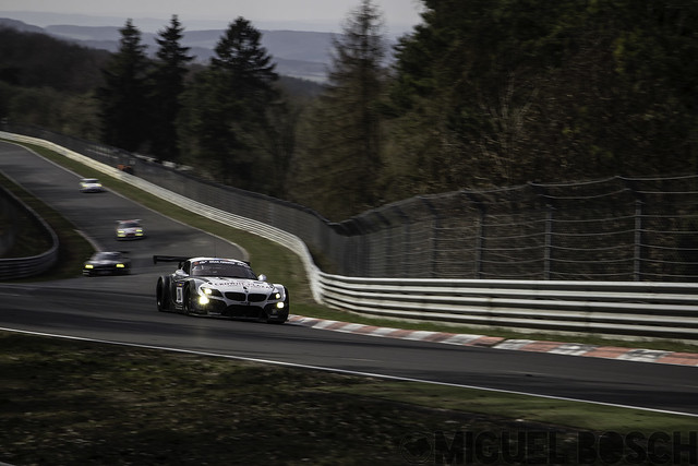 VLN. Round 1 Westfalenfahrt at the Nürburgring 29 March 2014