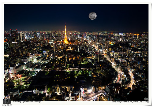東京鐵塔夜景 - Night view of Tokyo Tower