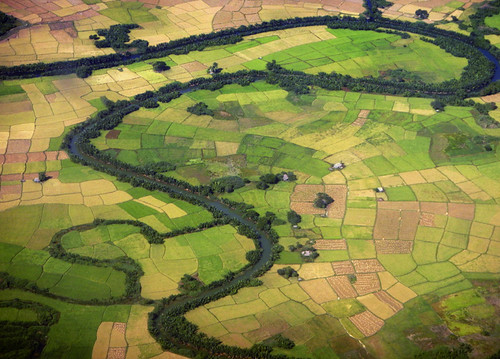 the rivers and fields of Myanmar