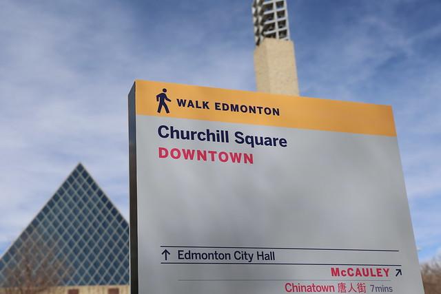 Edmonton Wayfinding