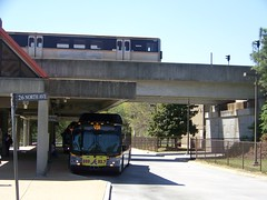 Bankhead MARTA Station Bus Bay