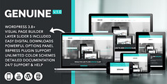 Genuine - Creative Responsive WordPress Theme (Miscellaneous)