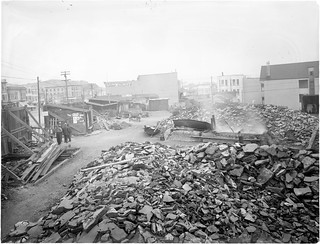 Aftermath Rubble, 1906