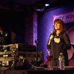 At City Winery NYC on 4/11/14, with special guests. Photo by Gus Philippas