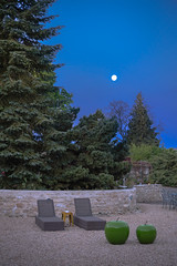 Relax under the moon