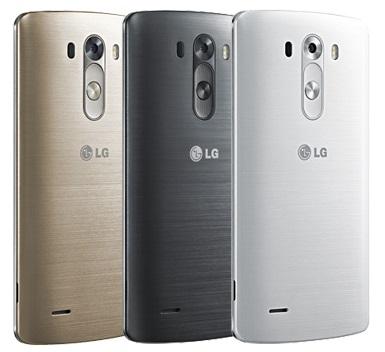 LG G3 Metallic Design