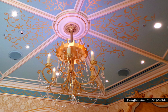 Chandeliers in Cinderella Castle