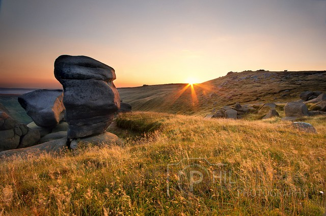 Kinder Scout, Woolpacks. By Phil Sproson