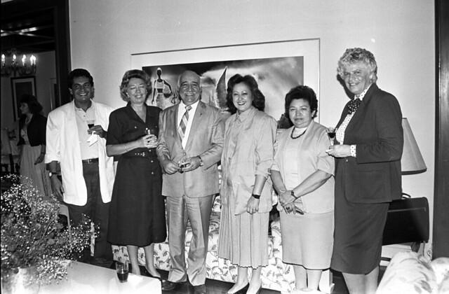 Almoço na Residência Oficial de Águas Claras em 07/03/1989.