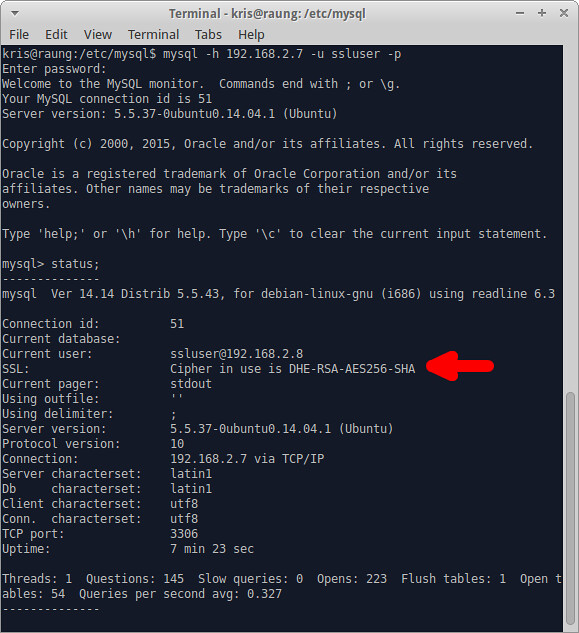 how to create mysql server in linux