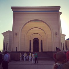At Field Marshal #Tantawy #Mosque in New #Cairo #DailyLife #Blogger #Citizenjournalism #Egypt #Buildings