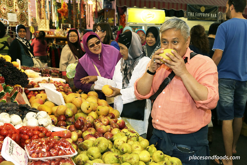 fremantle market fruits chef wan