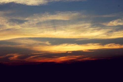sunset sky weather yellow godmode someoneisthere