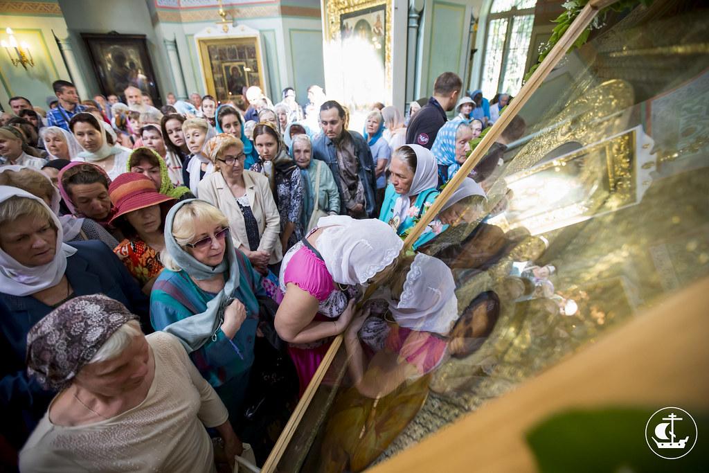 10 августа 2015, Престольный праздник храма Смоленской иконы Божией Матери / 10 August 2015, The patronal feast of the temple of the Smolensk icon of the Mother of God