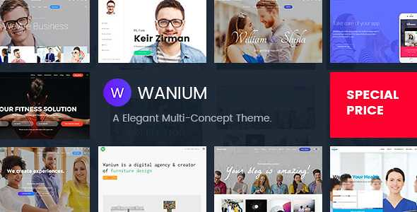 Wanium WordPress Theme free download