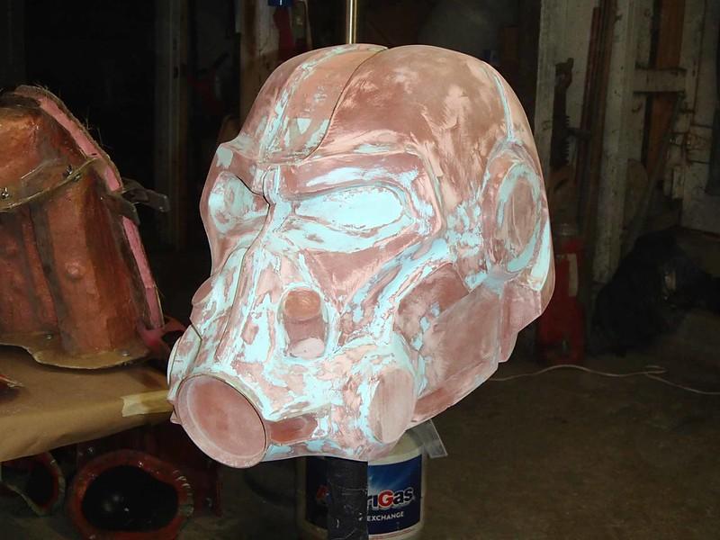 Helmet Sanding Continues