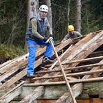 21.03.2017 - Dachstocksanierung Milchhuis Oberenglerz, Grafenort OW