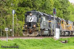 NS 7024 | EMD GP50 | NS Memphis District