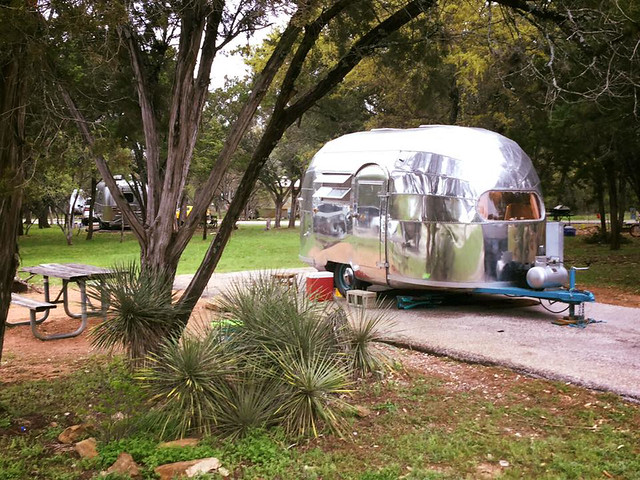 1948 Airstream-Behind our 2012 Flying Cloud