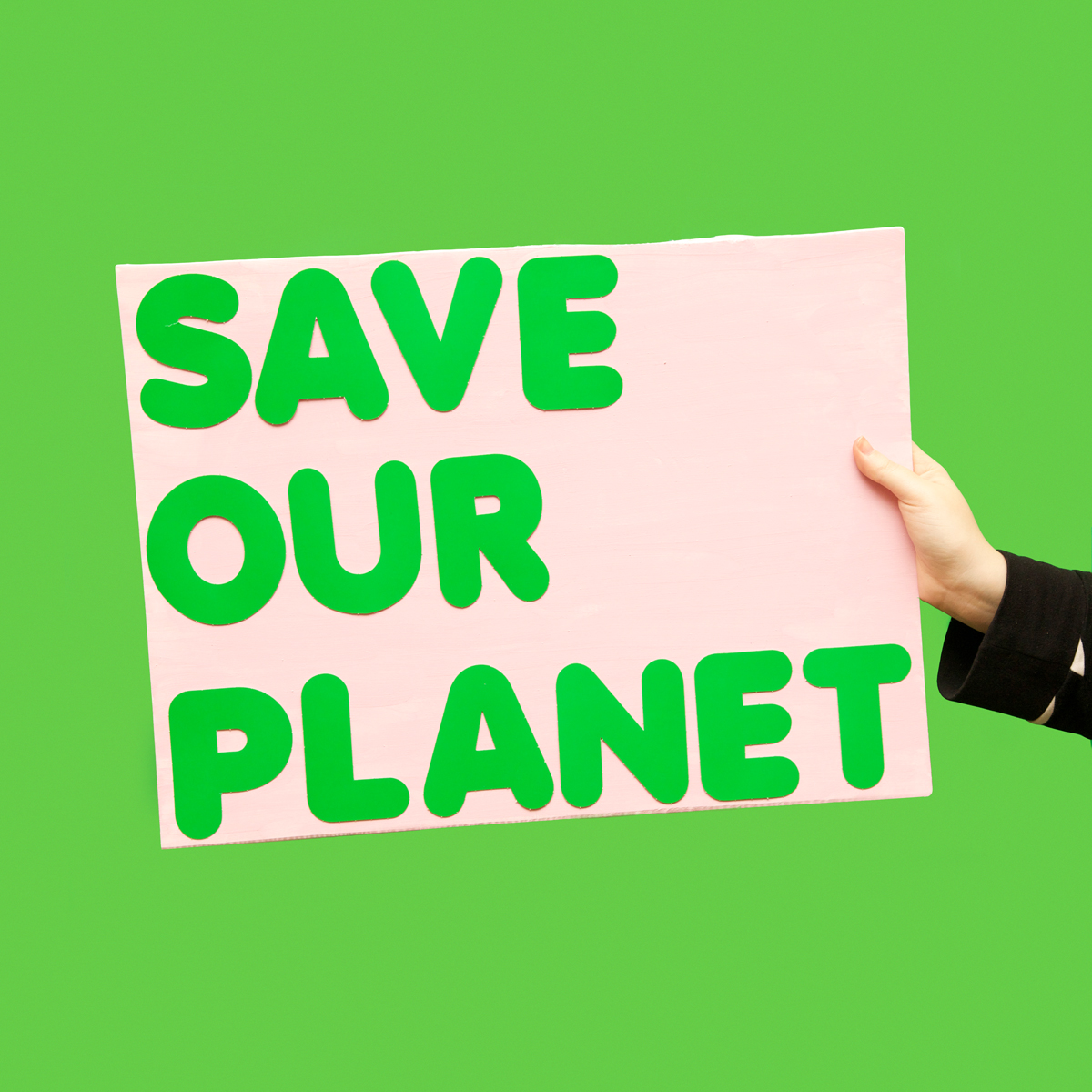 45 Protest Signs_Brandon and Olivia Locher_33_Save Our Planet