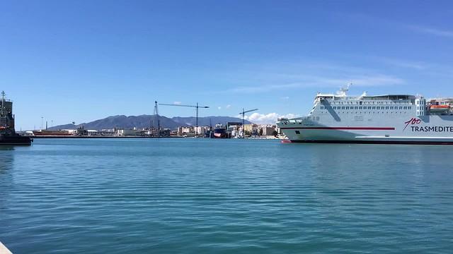 Video Hafen Málaga