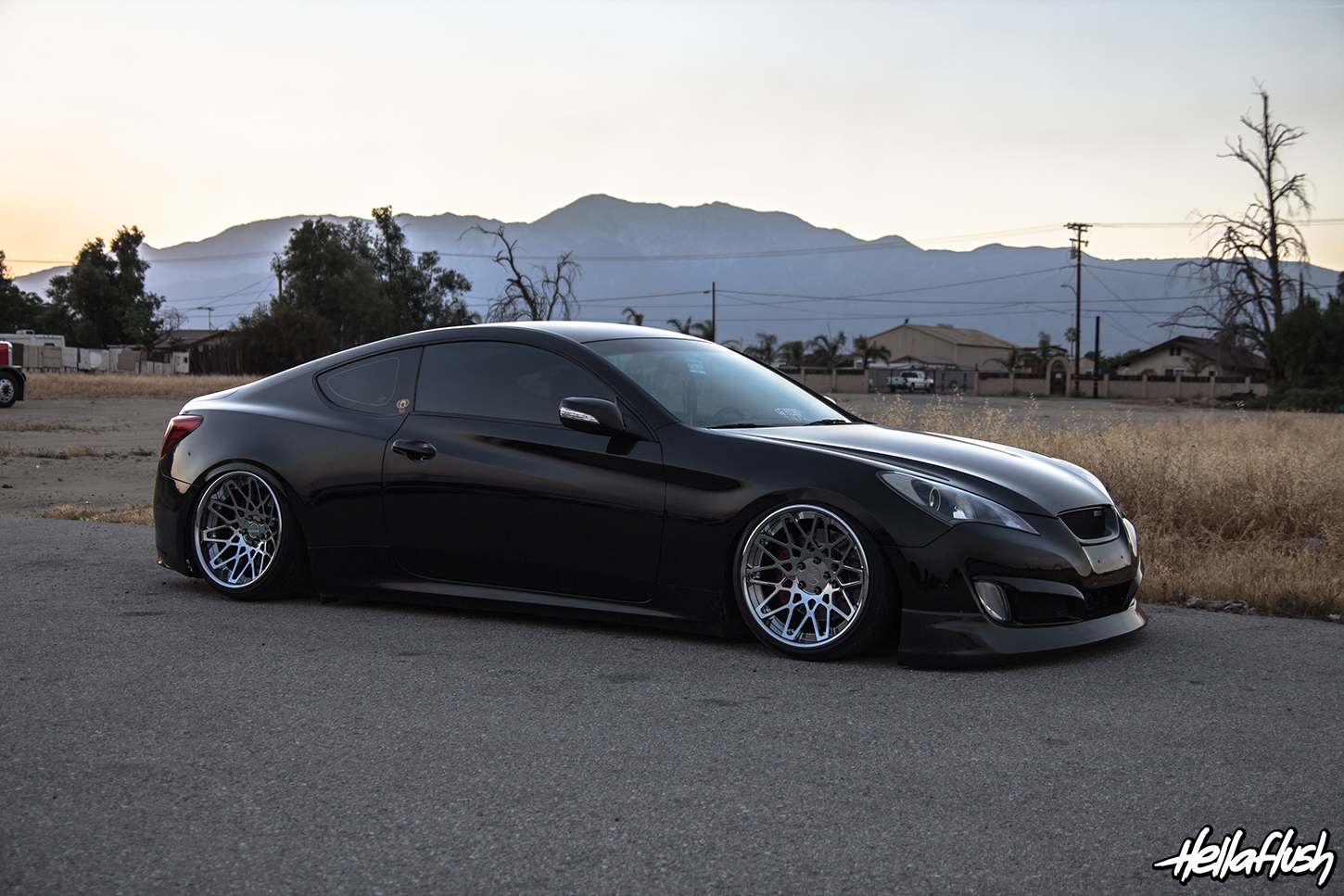 Big Rick S Slammed Genesis Coupe Feature W More Goodies