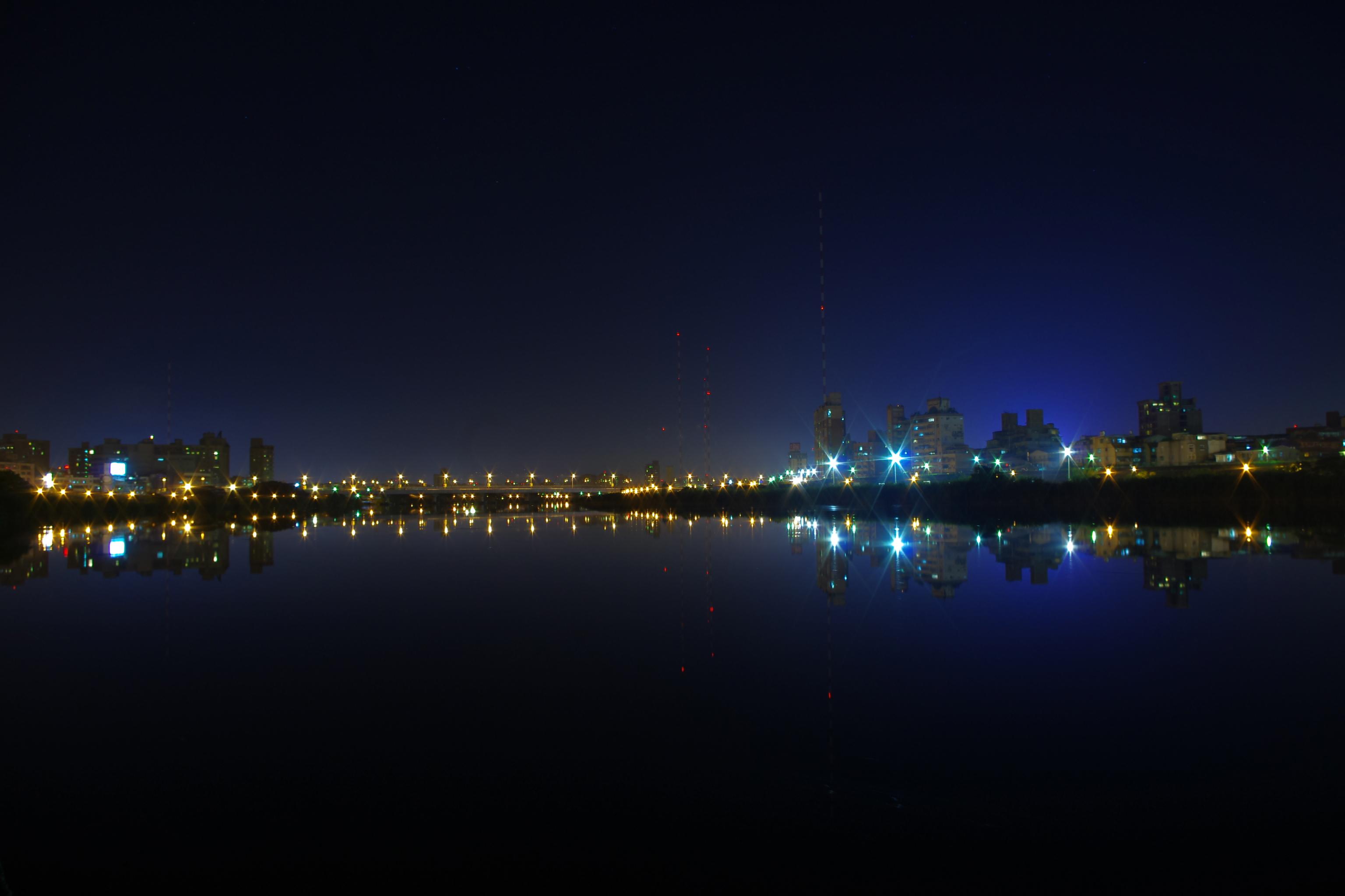 碼頭夜拍+變行金鋼