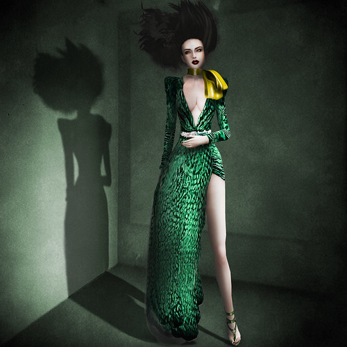 {Meghindo's} ~ Barros ~ Gown ~ / PoSEsioN Pop Art Set