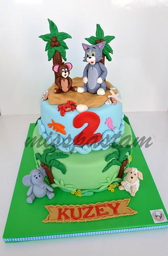 Tom and jerry cake by MİSSPASTAM