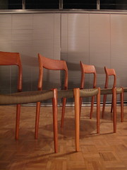 Niels Moller Model 77 Chairs