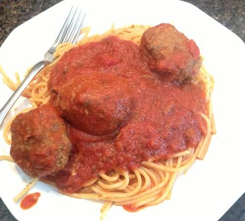 Ken's spaghetti & meatballs