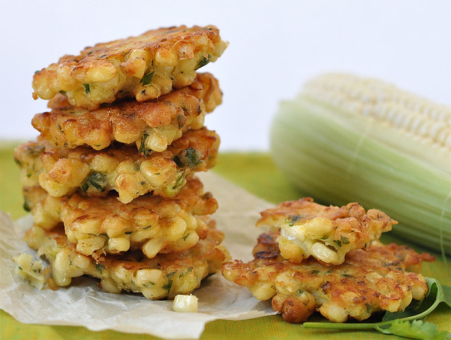 Sweet Summer Corn Fritters