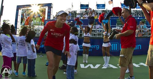 Martina Hingis enters