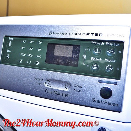 The 24 Hour Mommy Electrolux Time Manager Washing