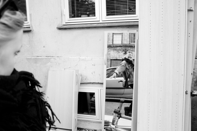 Maja and reflection