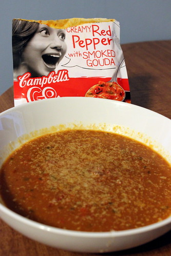 Red Pepper & Gouda Soup