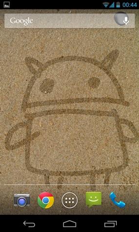 เขียนบนทราย