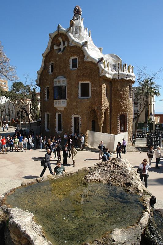 Entrada y escalinata de park Güell Park Güell, el icono bonito de Barcelona - 9579119752 997d1e9de4 c - Park Güell, el icono bonito de Barcelona